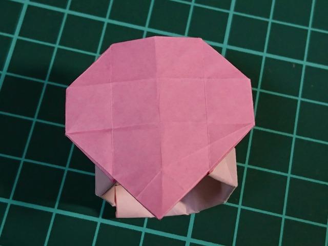 簡単 折り紙 ハートの指輪 折り紙 : afj2.ti-da.net