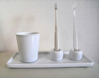 清潔感漂う白が基調 水周りインテリア 【100均】【無印】【IKEA】活用例