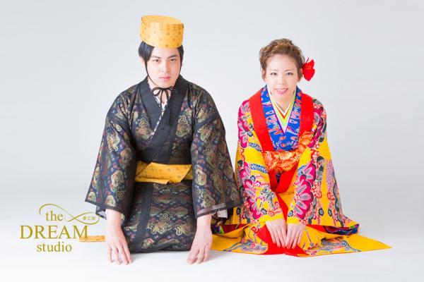 6/17 沖縄県スタジオ琉装フォトウェディング