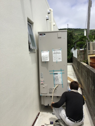 太陽光発電システム設置工事 三菱電機 8.74kwシステム 中城村屋宜A様邸