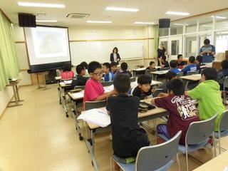 伊江小学校・西小学校 ジョブシャドウイング 第2回事前学習