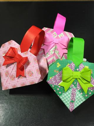 クリスマス 折り紙 折り紙 リボン 折り方 : hanausagi46.ti-da.net