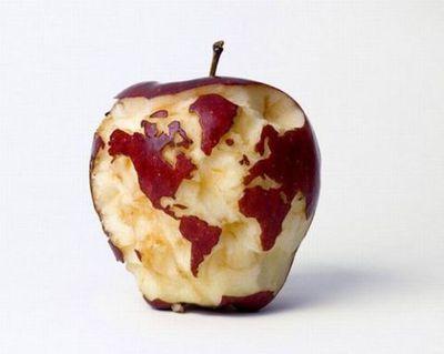世界地図 iPhone
