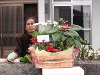 お母さんお誕生日おめでとうございます