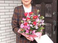 喜寿祝いおめでとうございます。