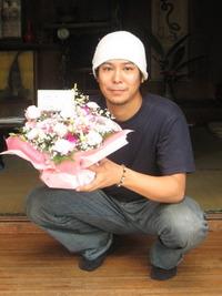 奥様の誕生日おめでとうございます。崇太さん!