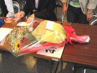 公演祝いの花束