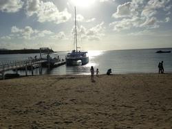 グラスボート乗り場