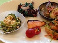 朝食(野菜を中心に)