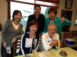 江本さん、せいさんご夫妻と!