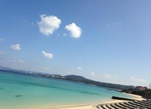 瀬良垣の海