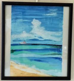 瀬良垣の砂浜