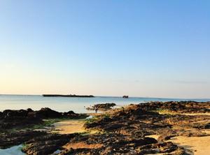 瀬良垣ビーチの海岸