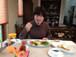 田邊さん朝食