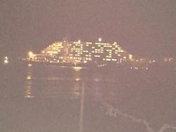 夜のANAホテル