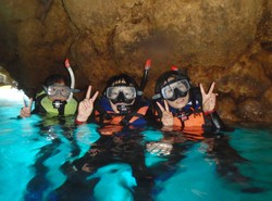 青の洞窟②