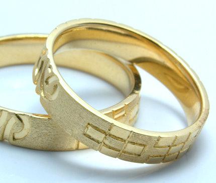 ミンサー結婚指輪「カナサン」