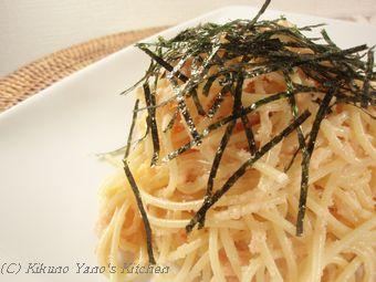マヨ たらこスパゲティレシピ