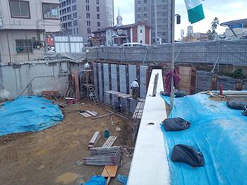 浦添擁壁工事2
